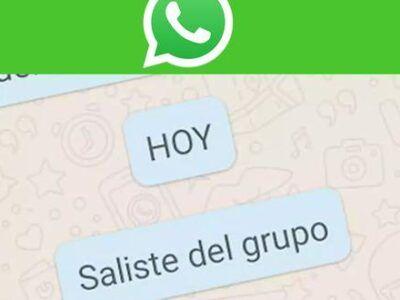 WhatsApp: cómo salir de un grupo sin que nadie se de cuenta