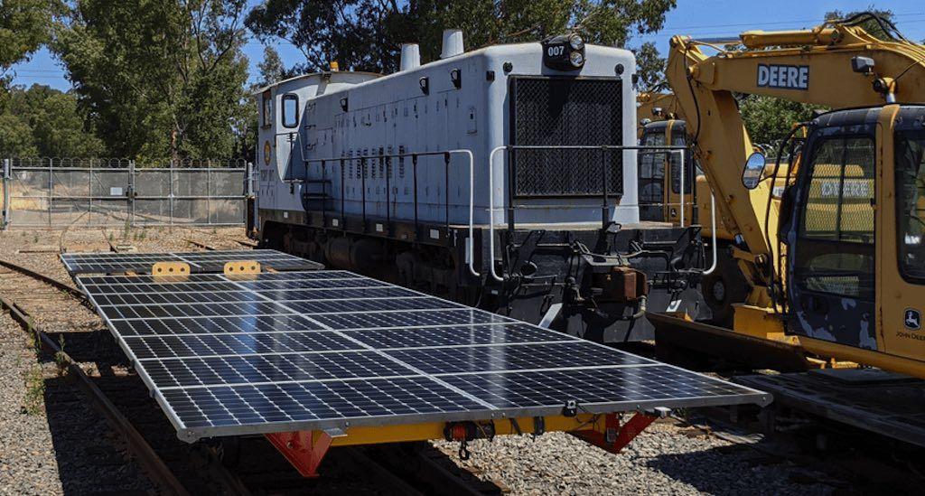 Locomotora solar