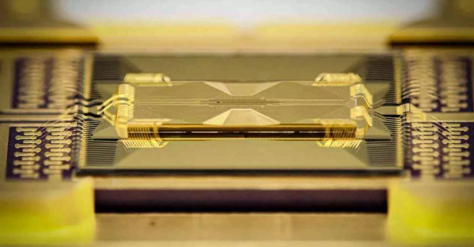 CPU Cuántica de vidrio