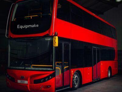 Jewel E será el autobús eléctrico de dos pisos con mayor autonomía del mercado